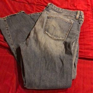 J Crew broken boyfriend jeans